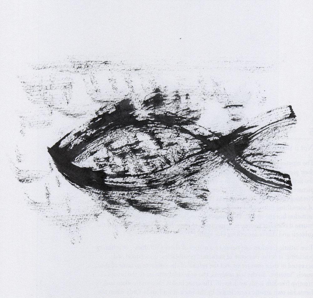 Line drawing by Thomas Merton