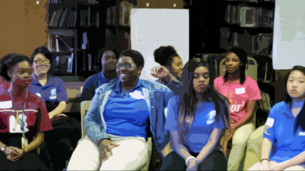 Teens learn about mindfulness & cultural development.